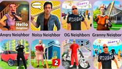 Angry Neighbor,Granny Neighbor,Noisy Neighbor,Bad Granny 2,Russian Crime